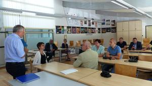 Besuch in der Beruflichen Schule Sassnitz