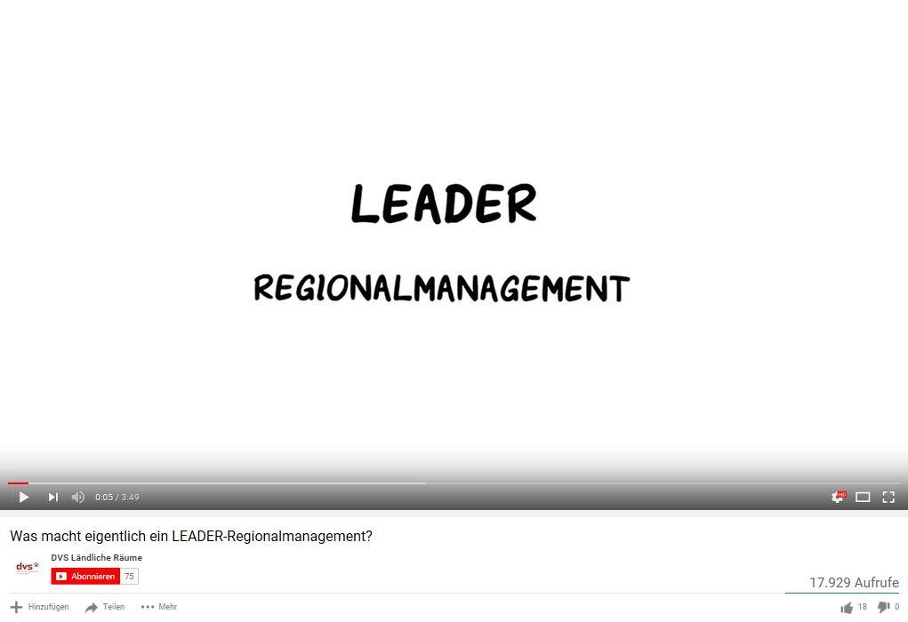 LEADER Regionalmanagement