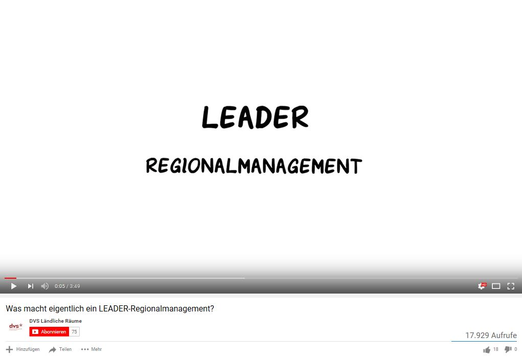 LEADER Regionalmanagement